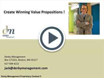 how to create Value Propositions