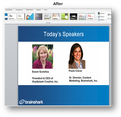 3 tips for professional looking powerpoint slides brainshark