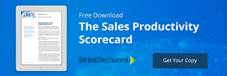 The Sales Productivity Scorecard