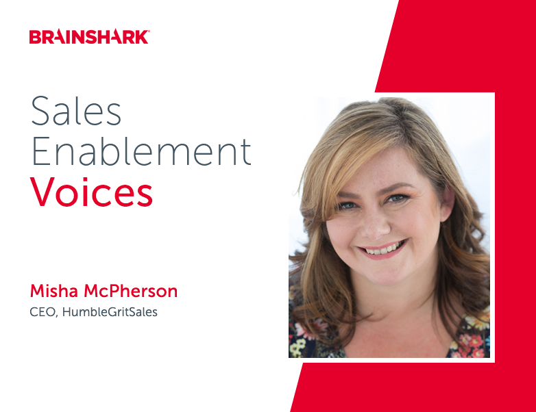 Consultant and longtime practitioner Misha McPherson shares what first-timer sales enablement pros should know about the role.